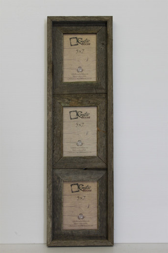 8x10 Rustic Reclaimed Barn Wood Vertical Double Opening Frame ...
