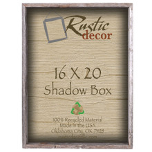 16x20 Barn Wood Collectible Shadow Box