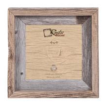 4x4 Rustic Reclaimed Barn Wood Signature Wall Frame