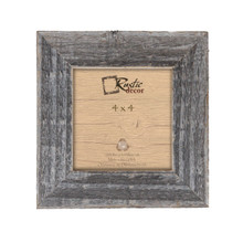 4x4 Rustic Barn Wood Standard Instagram Photo Frame