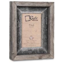 4x6 Rustic Reclaimed Barn Wood Signature Photo Frame