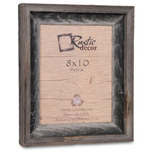 8x10 Rustic Reclaimed Barn Wood Signature Photo Frame