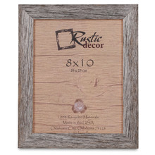 8x10 Rustic Reclaimed Barn Wood Standard Photo Frame