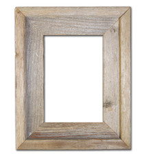 4x6 Picture Frames – Reclaimed Barn Wood Open Frame (No Glass or Back)