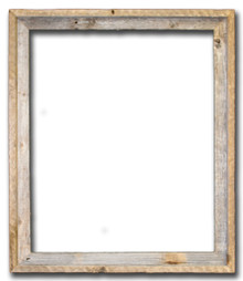 22x28 Picture Frames – Reclaimed Barn Wood Open Frame (No Plexiglass or Back)
