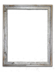24x30 Picture Frames – Reclaimed Barn Wood Signature Open Frame (No Plexiglass or Back)