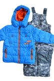 Rugged Bear Infant Boys 2-Piece Snowsuit Royal/Camo