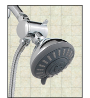 Installing a Fixed-Mount with Hand-Held Shower