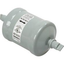 "3/8"" Bi-Flow Liquid Filter Drier, Sweat"