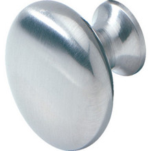 "1-1/4"" Cab Knob Satin Chrome ""Pkg Of 5"""
