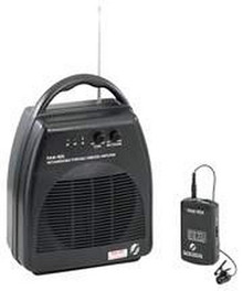 Portable Wireless Pa System, Blk
