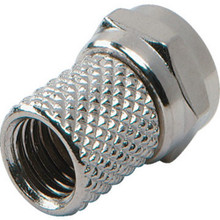 """Coaxial Twist-On Connector """"Pkg Of 10"""""""