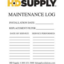Maintenance Log Sticker Pk Of 100