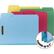 Letter Size Fastener Folders Bx/25, Blue