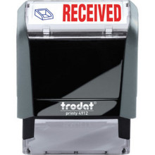 "65% Recycld Self-Inking Stamp ""Received"""