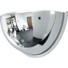 """18"""" Plastic Half Dome 180 Mirror"""