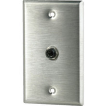 "1/4"" Phono Jack With Wall Plate"
