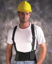 2X Vel Xx-Lg Back Support Det Suspenders