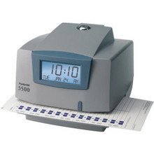 Pyramid 3500 Time Clock,Doc,Job Rec
