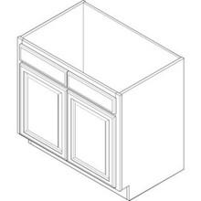 """27W X 34-1/2H X24""""D Base Cabinet"""