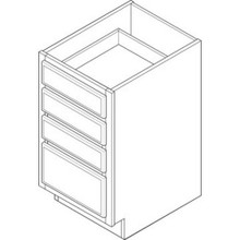 "12W X 34-1/2H X 24""D Drawer Base"