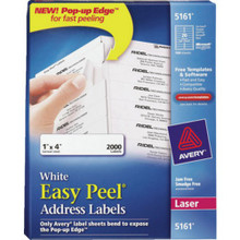 Avery White Lsr Printer Labels 2000/Bx