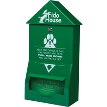 Fido House Header Pet Waste Dispenser