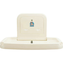 Koala Kare Baby Changing Station Horizontal Wall Mounted