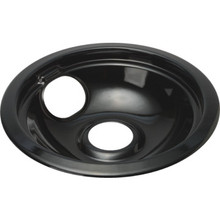 Universal 6 Black Drip Bowl 6 Per Package