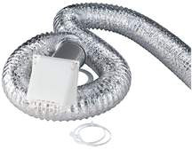 8' FLEX ALUMINUM DRYER VENT KIT