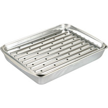 "ALUMINUM BROILER PAN ""PKG OF 2"""