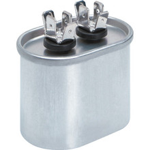 370 Volt 10 MFD Oval Run Capacitor