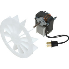 Exhaust Fan Motor And Fan Assembly