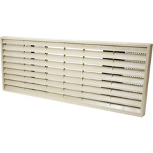 GE Louvered Polymer Rear Grille