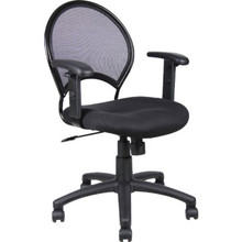 Boss Black Mesh Desk Chair