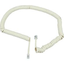 15' Ivory Telephone Handset Cord