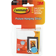 "3M Picture Hanging Strips ""Pkg Of 12"""