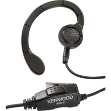 Kenwood C Ring Earpiece And Microphone