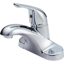 Delta Foundations CoreB Lavatory Faucet Chrome Single Handle