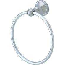 Delta Crestfield Chrome Towel Ring