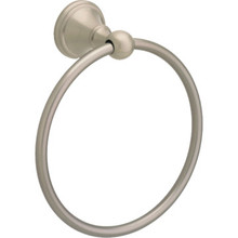 Delta Crestfield Satin Nickel Towel Ring