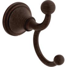 Delta Crestfield Double Venetian Bronze Robe Hook