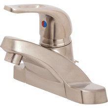 Aspen Euroloop Lavatory Faucet Brushed Nickel Single Handle With Pop-Up