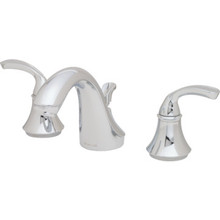 Kohler Fort Sculpted Two Handle Widespread Bath Faucet With Pop-Up