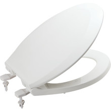 Seasons Plastic Elongated Toilet Seat Standard-Duty