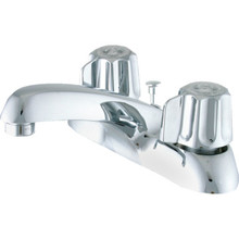 Gerber Lavatory Faucet Chrome Two Handle With Pop-Up