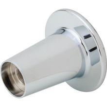 """Replacement For Gerber Round Shower Flange Chrome Finish 9/16"""" ID x 2-3/4"""" OD"""