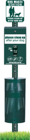 Pet Waste Station - Round Can Header - The MittN Bag