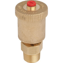 """Armstrong 1/2"""" FPT 3/4"""" MPT Automatic Air Vent Vertical Discharge Vertical"""