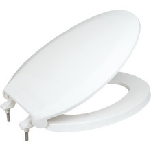Centoco Plastic Elongated Toilet Seat Heavy-Duty 800STS